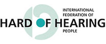 Logo of International Federation of Hard of Hearing People