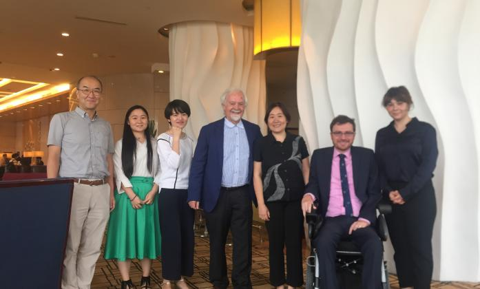 IDA delegation meeting with Inclusion China & Rong Ai Rong Le Family Support.