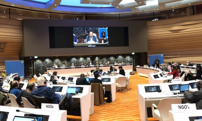 Room XVII during the opening of the 19th CRPD Committee session in Geneva, 2018