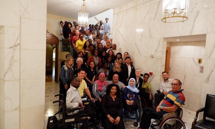Bridge co-facilitators, participants, observers, translators, interpreters, logistics and communications supports