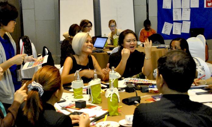 Bridge Training participants in Bangkok 2016