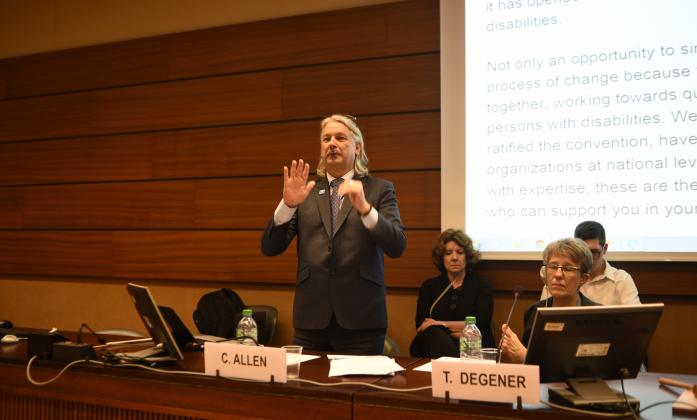 """""""CRPD: A Global Call for Universal Ratification"""" Side Event, Social Forum 2016"""