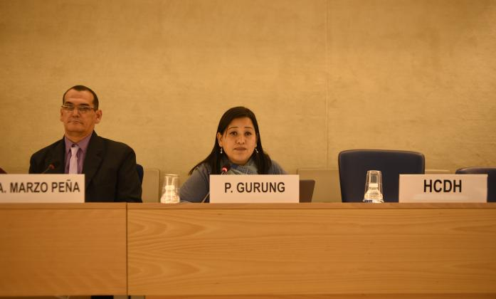 Ms. Pratima Gurung, Indigenous Persons with Disabilities Global Network, Asia Chapter