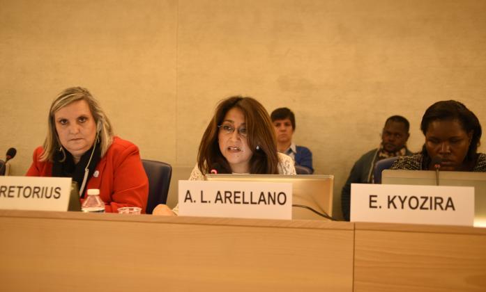 Day two, Ana Lucia Arellano