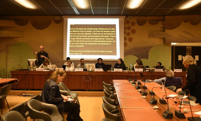 Side event on article 19 CRPD