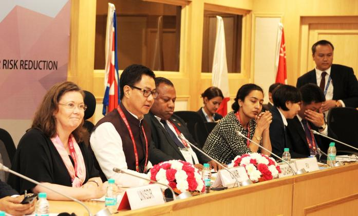 Asian Ministerial Conference on Disaster Risk Reduction - Kiren Rijiju