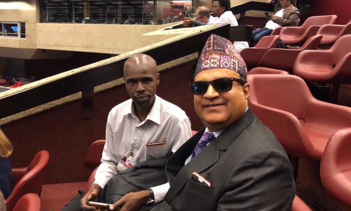 IDA members participating at Sendai Global Platform meeting in Geneva 2019