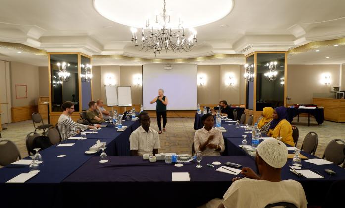 Co-facilitators' preparatory meeting