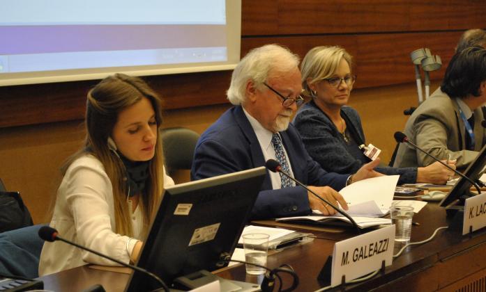 Panelists during inclusive education event, Social Forum 2016