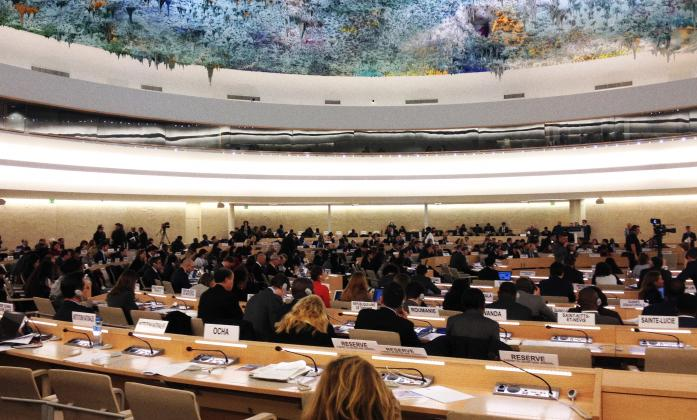 Human Rights Council 33rd Session, Palais des Nations, Geneva