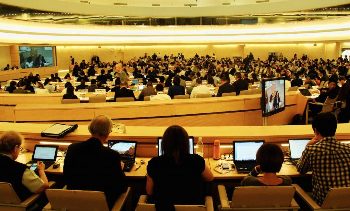 Human rights Council 33rd Session, September 2016