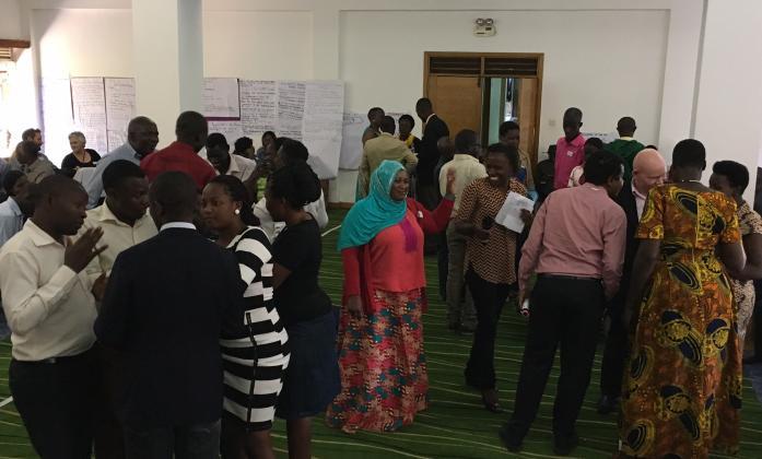 Participants at the BRIDGE CRPD SDG training in Uganda