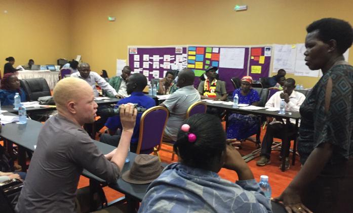 Participants in Q&A session
