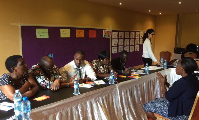 WFDB representatives at WFDB East Africa workshop