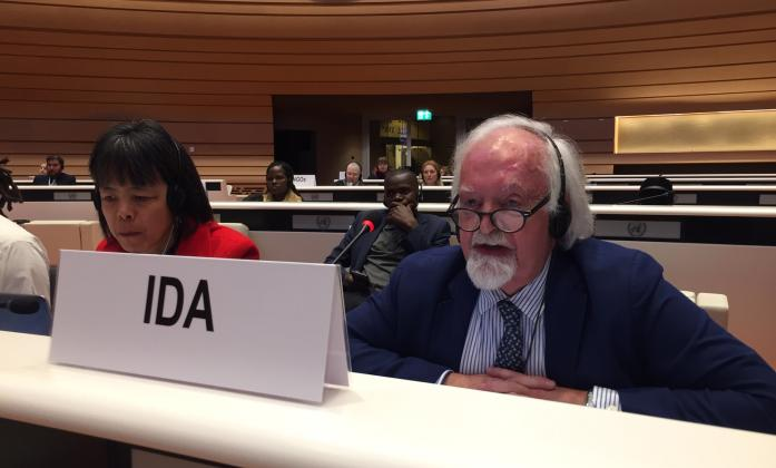 Klaus Laschwitz at CRPD Committee 21st Session