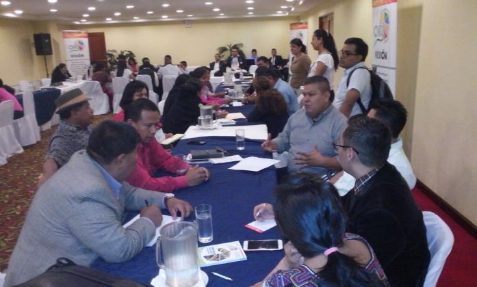 First Meeting of Leaders Indigenous Persons with Disabilities in Guatemala