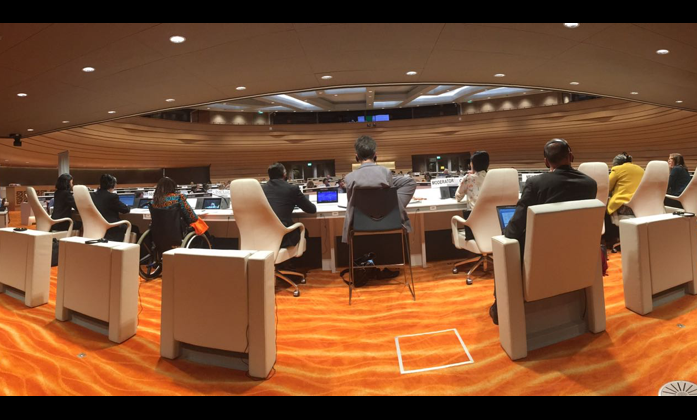 Room XVII during the 18th session of the Committee