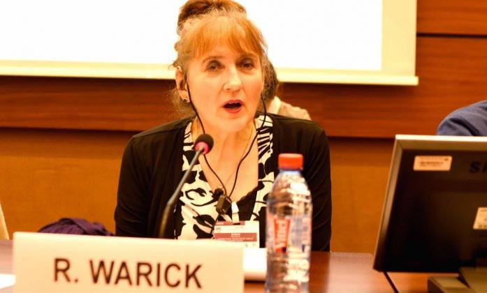 Ruth Warick during the Social Forum 2016