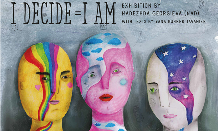 I decide=I am exhibition page