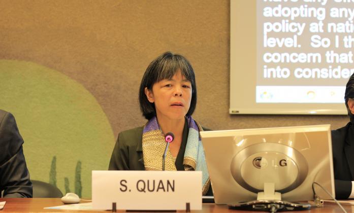 Silvia Quan, IDA Senior Human Rights Advisor for the Treaty Bodies Unit