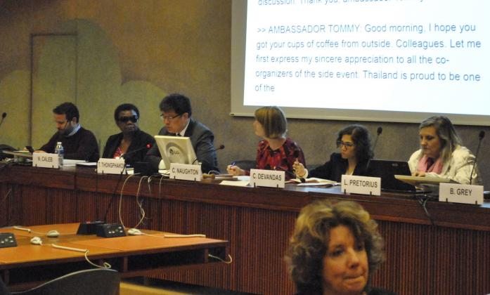 Technical Cooperation side event Social Forum