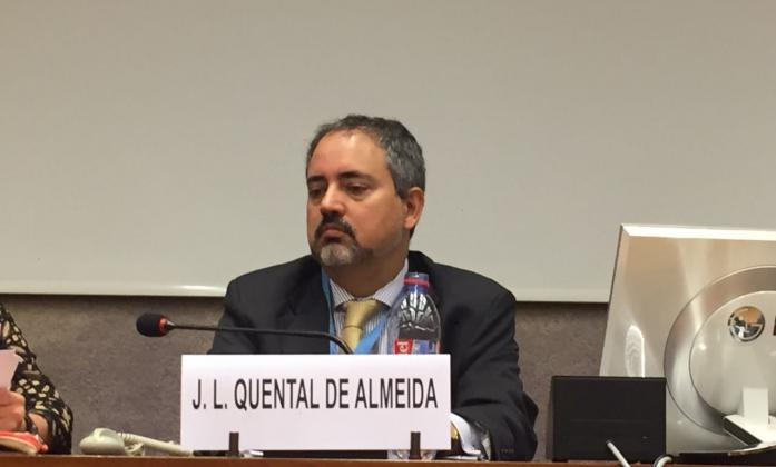 Brazilian Ambassador to the United Nations at the World Downs Syndrome event in Geneva