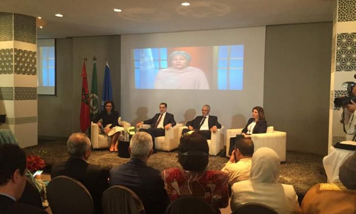 Panelists at the Arab Regional Forum in Rabat