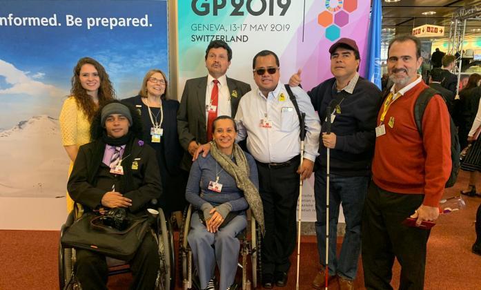 Sendai Global Platform meeting 2019