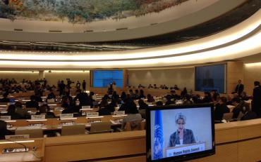 Opening of the 34th session of the Human Rights Council in Geneva