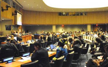 HLPF Plenary sesssion