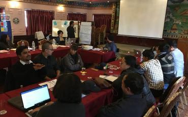 DPOD workshop, Nepal