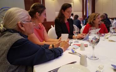 Civil society representatives draft the joint civil society statement