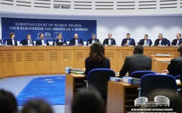 The European court of Human rights in session
