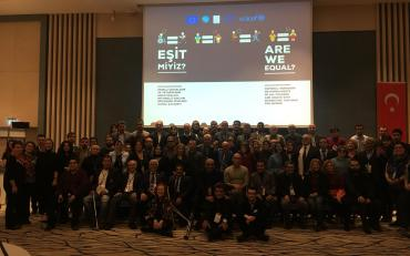 Participants at the National Workshop on Human Rights of all children and adults with disabilities: Dialogue for UNCRPD