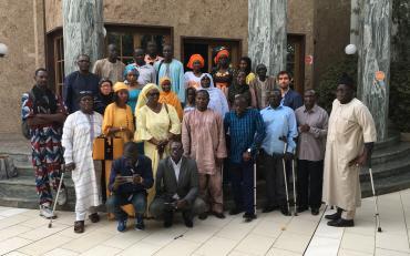 Workshop on the CRPD Committee's Review Process in Dakar, Senegal