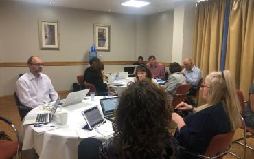 Room view of the Third Technical workshop of the IDA Inclusive Education Task Team, Brighton, July 2019
