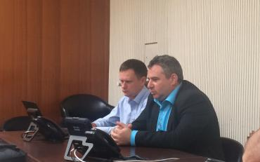 Moldova DPOs during briefing with CESCR Committee members