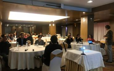 Room view of the Second technical workshop of the IDA Inclusive, Kathmandu, March 2019