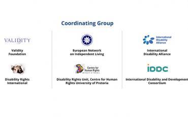 Co-ordinating groups logos