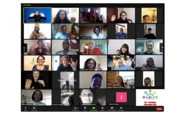IDA Fellows meeting via Zoom.