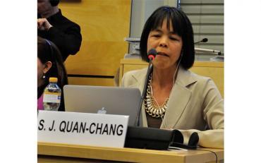 Silvia Quan is the IDA Senior Human Rights Advisor on the Treaty Bodies