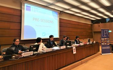 Panel at UPR pre-session