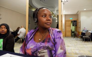 Maureen Nderitu, Islamic Relief Kenya - humanitarian actor participating in the training