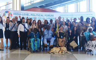 Stakeholder Group of Persons with Disabilities for Sustainable Development  at the HLPF 2018
