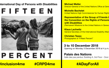 FifteenPercent Exhibition - IDPD 2018