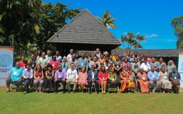 Participants at the IASC Consultation in Fiji