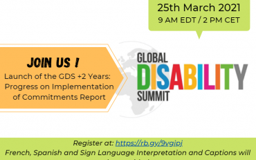 flyer of the GDS+2 years webinar