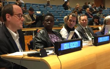 Delegates at the ECOSOC FfD Forum in New York, May 2017.