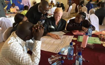 Representatives at the BRIDGE-SDGs-CRPD training in Kenya