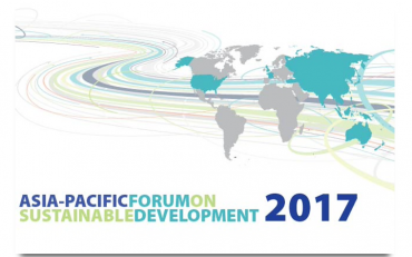 Logo of the Asia-Pacific Forum on Sustainable Development 2017
